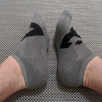 Gray DC Shoes Socks - Geared Up Pup