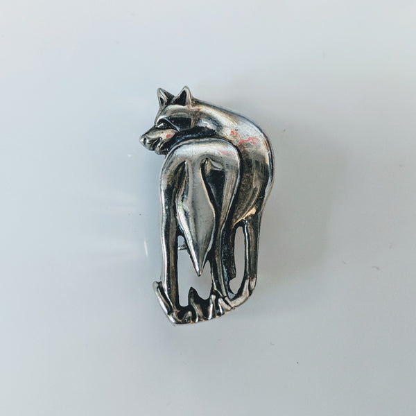 Puppy Butt Pin (Sterling) - Geared Up Pup