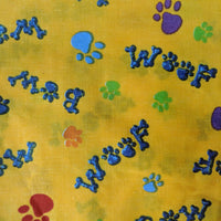 Hankies - Flagging Colors - Geared Up Pup