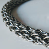Chainmaille Collar - Geared Up Pup