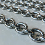 Link Chain Collar (Stainless Steel) - Geared Up Pup