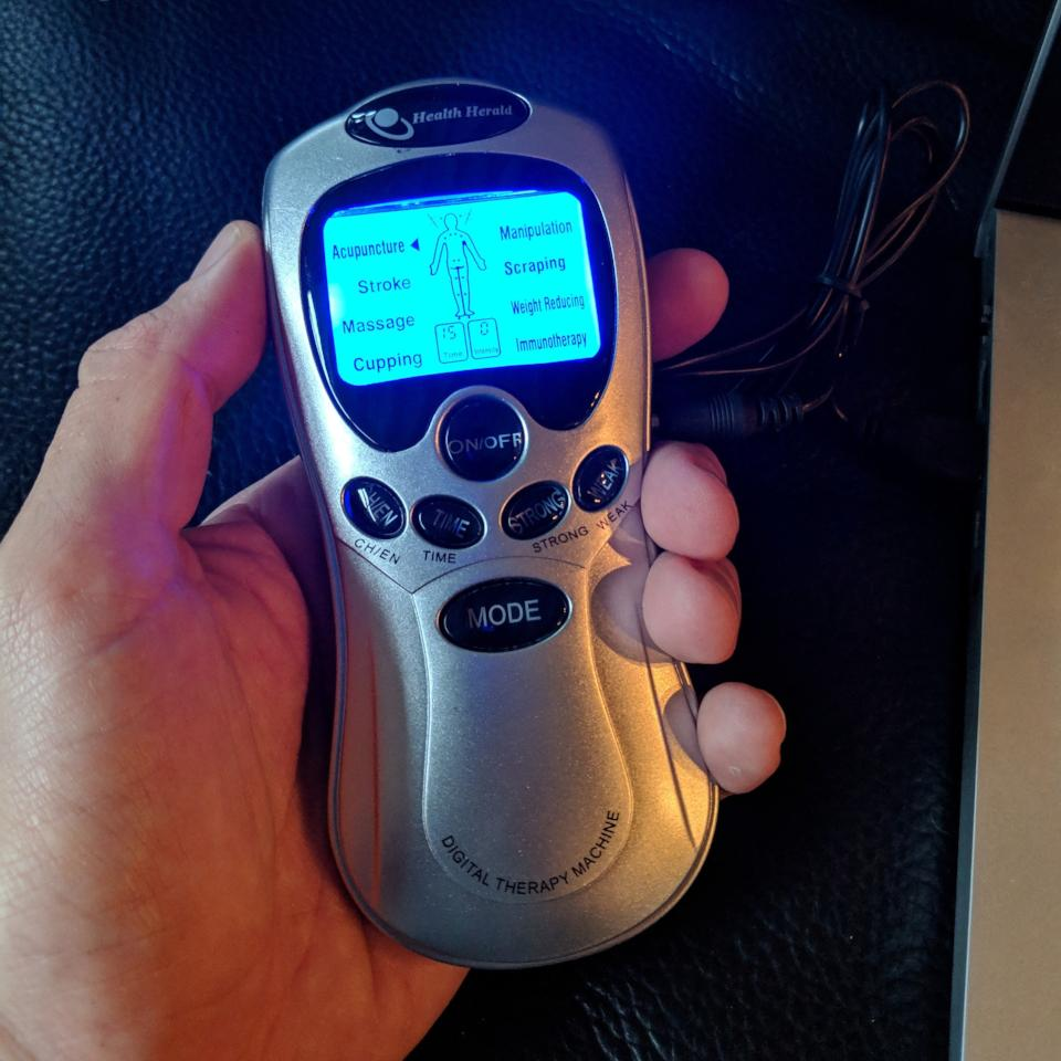 Electro E-Stim Tens Unit - Geared Up Pup