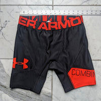 L Black and Red Under Armour Shorts - Used - Geared Up Pup
