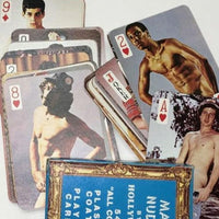 Hollywood Male Nudes Playing Cards - Geared Up Pup