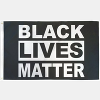 Black Lives Matter Flag - Geared Up Pup