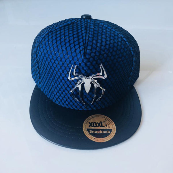Spider-Man Logo Cap - Blue - Geared Up Pup