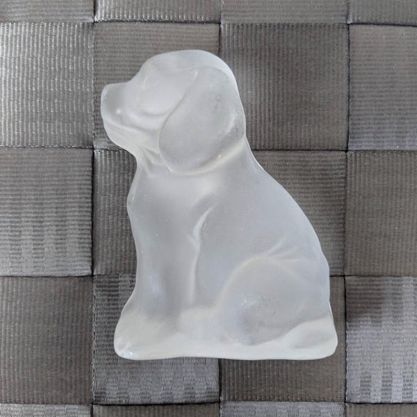 Glass Puppy-Frosted - Geared Up Pup