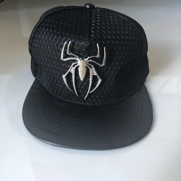 Spider-Man Logo Cap - Black - Geared Up Pup