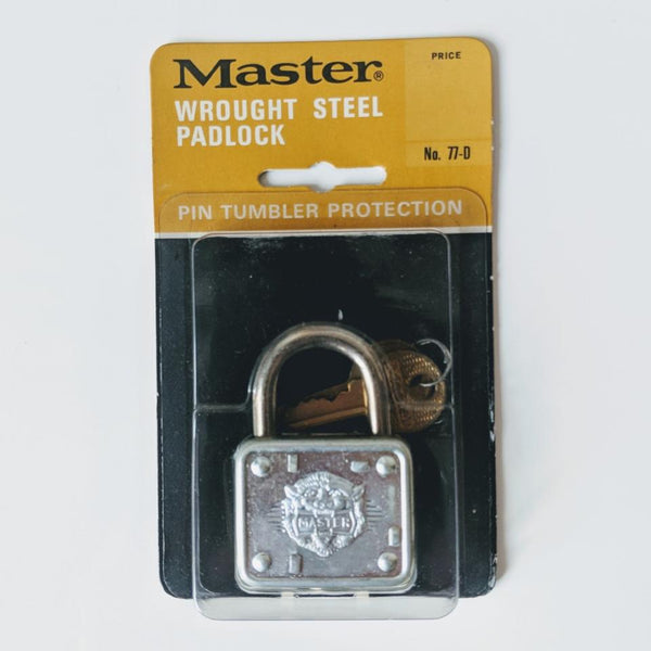 Master 77-D Lock (2) - Geared Up Pup