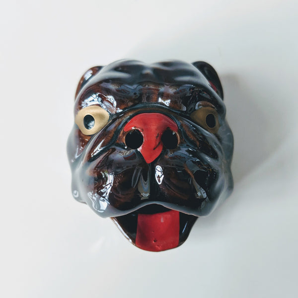 Bulldog Incense Burner - Geared Up Pup