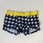 Pink Hero Houndstooth Boxer Briefs - Geared Up Pup