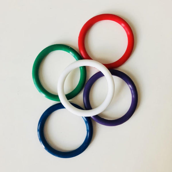 Multicolor C- Rings - Geared Up Pup