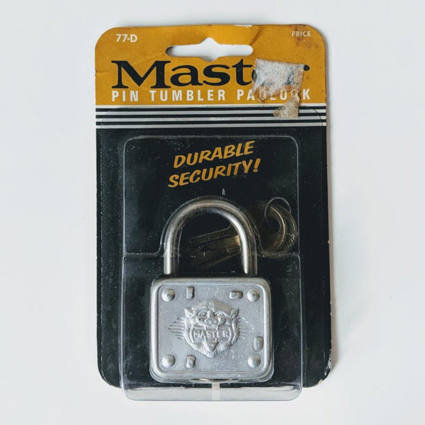 Master 77-D Lock (1) - Geared Up Pup