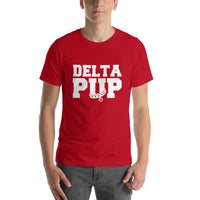 T-Shirt-Delta Pup - Geared Up Pup