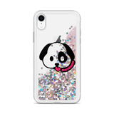 Liquid Glitter Phone Case-Geared Up Pup Puppy Head Logo - Geared Up Pup