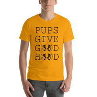 T-Shirt-Pups Give Good Hood - Geared Up Pup