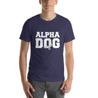 T-Shirt-Alpha Dog - Geared Up Pup