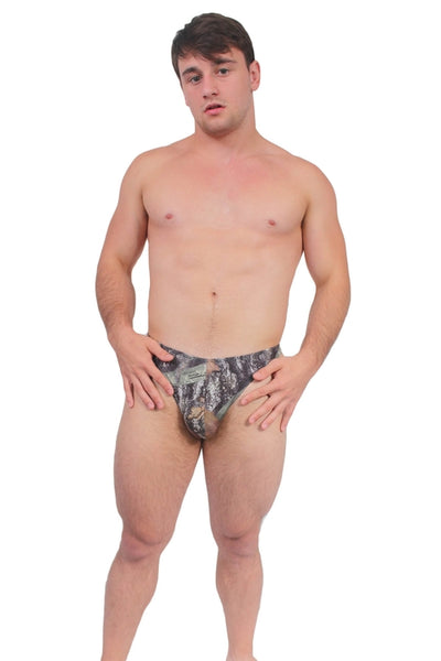 Men's Authentic True Timber Thong - Geared Up Pup