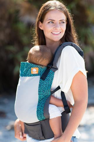 Tula Ergonomic Baby Carrier ~ COAST AQUA RAIN