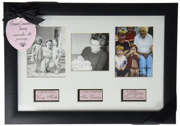 Life Story Photo Frame for Great-Grandma