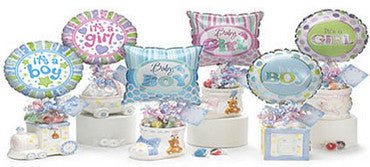 Baby Balloon and Candy Gift Set