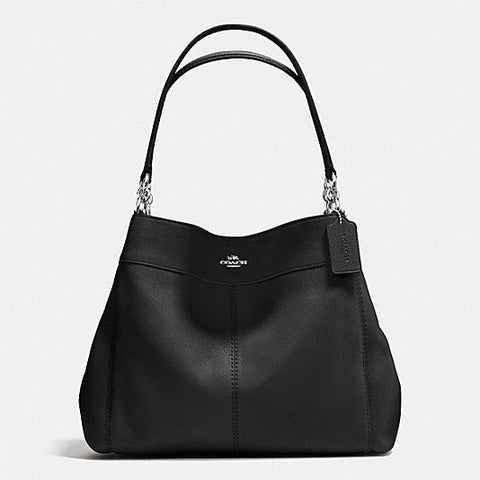 Coach Lexy Shoulder Bag in Soft Pebble Leather