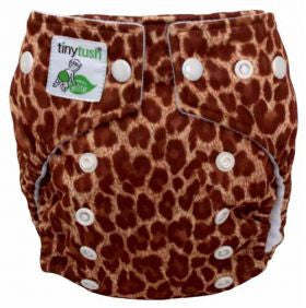 Tiny Tush Elite Mini Pocket Diaper (4-15lbs)