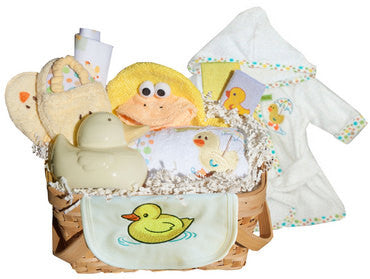 Baby Duck Gift Basket