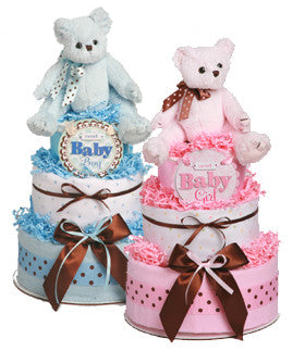 Bearington Bear boy/girl diaper cake