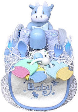 Tier Boy's Diaper Cake