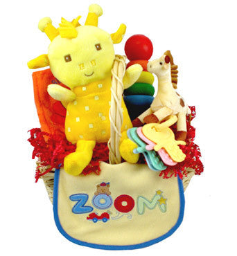 Busy Baby Gift Basket