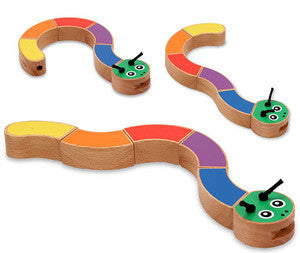 Caterpillar Wooden Grasping Toy