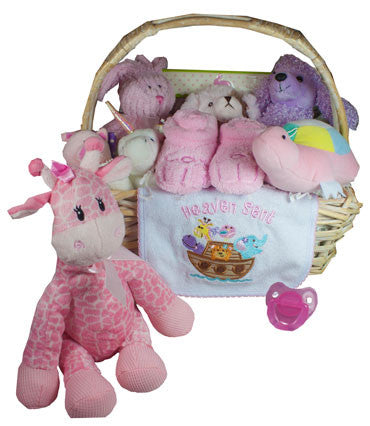 Noah's Ark Girl Gift Basket
