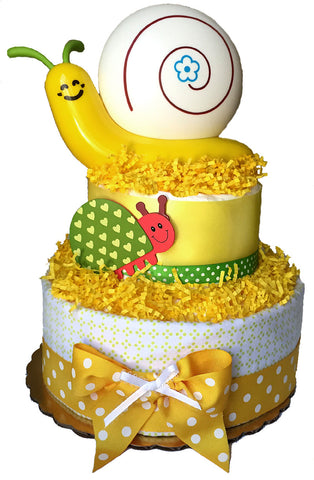 Snail Light Diaper Cake