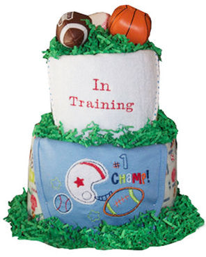 Play Ball Sports Diaper Cake