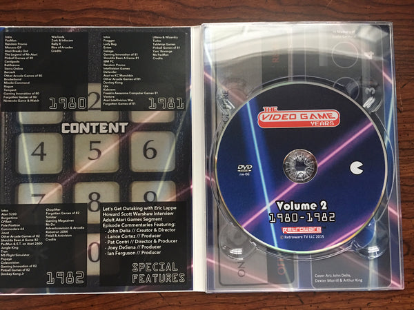 The Video Game Years Vol. 1-3 DVD Set