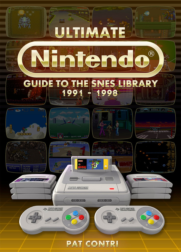 Ultimate Nintendo: Guide to the SNES Library PAL Version (Book Pre-Order)