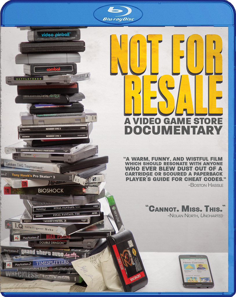 Not for Resale: A Video Game Store Documentary [Blu-ray + Digital]
