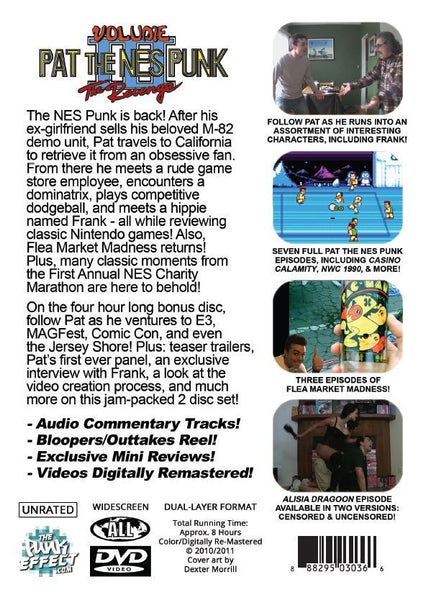 Pat the NES Punk Vol. 3 DVD