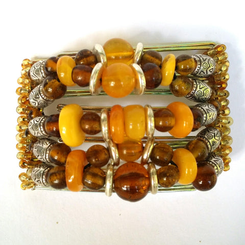 Real Baltic Amber 7 tooth
