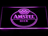 Amstel Beer Bar LED Sign - Purple - TheLedHeroes