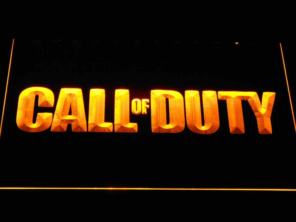 Call Of Duty LED Neon Sign Electrical - Yellow - TheLedHeroes