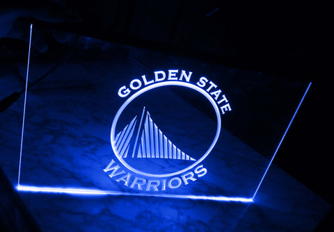 FREE Golden State Warriors LED Sign -  - TheLedHeroes
