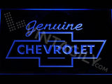Chevrolet Genuine LED Neon Sign USB - Blue - TheLedHeroes