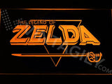 The Legend of Zelda LED Neon Sign USB - Orange - TheLedHeroes