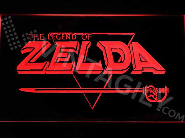 The Legend of Zelda LED Neon Sign USB - Red - TheLedHeroes