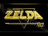 The Legend of Zelda LED Neon Sign USB - Yellow - TheLedHeroes