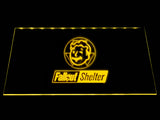 Fallout Shelter LED Sign - Yellow - TheLedHeroes