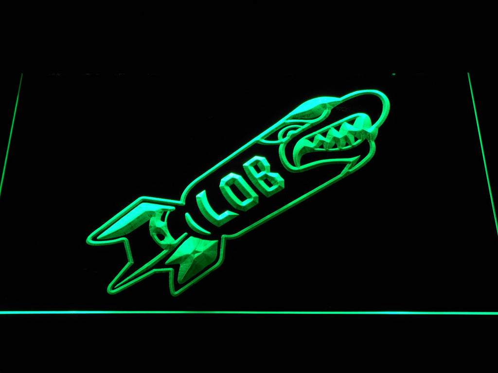 Seattle Seahawks Legion of Boom LED Neon Sign USB - Green - TheLedHeroes
