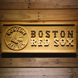 Boston Red Sox Wooden Sign